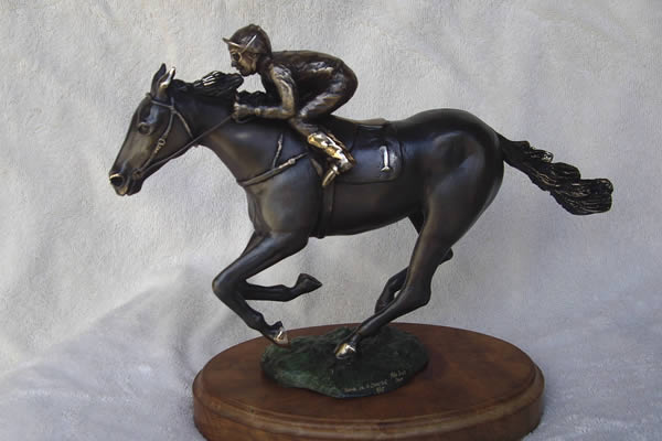 Racehorse and Jockey